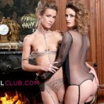 Claire Castel & Alexis Crystal: Hot French Duo for three Lucky Guys